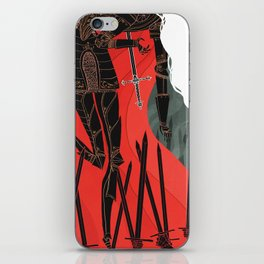 Knight of Swords iPhone Skin