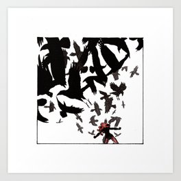 Ability to summon ravens Art Print