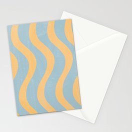 Minimal Bicolor Pattern  Stationery Cards