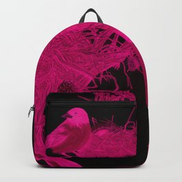 Hot Pink Nested Oriole X-Ray Backpack