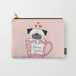 PUG IN A MUG Carry-All Pouch
