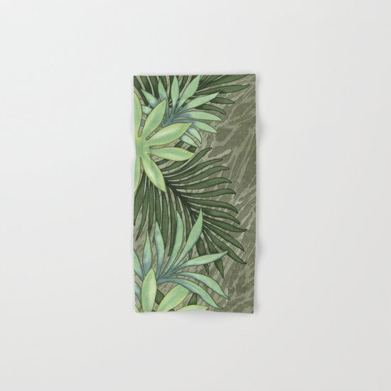 A Run Through the Jungle Hand & Bath Towel