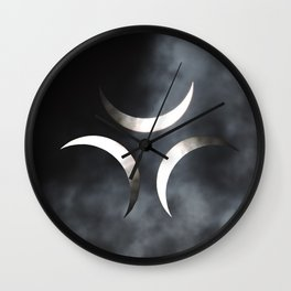 Luna Invicta Wall Clock
