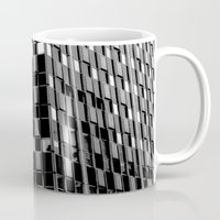 dallas Mugs featuring Building8 Dallas by SarahGW