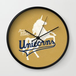 Unicorns Wall Clock