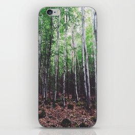 Uncharted Woods  iPhone Skin