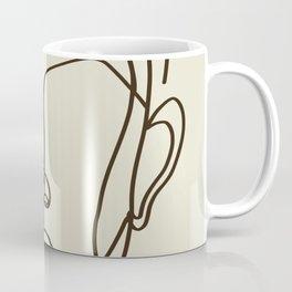 Strong Girl With Earring Coffee Mug