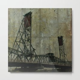 Hawthorne Bridge, Portland, Oregon Metal Print