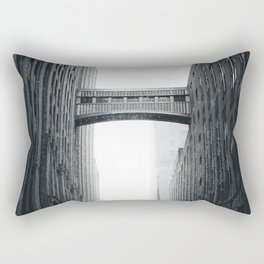 Snow Bridge in New York Rectangular Pillow