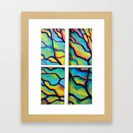 Painted Window (*Koinonia*) Framed Art Print