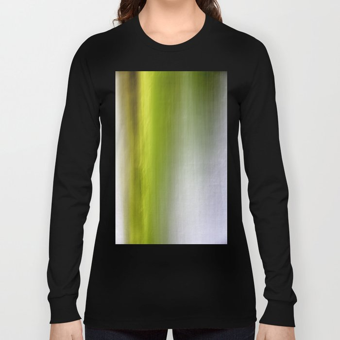 Abstract Reedbed Long Sleeve T-shirt