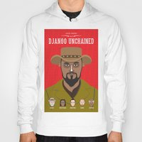 django Hoodies featuring Django by Mohac