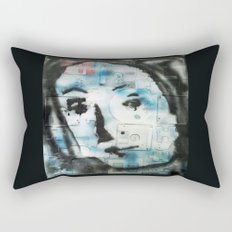 VENUSIAN FACE 4 (PUZZLED DISK VERSION) Rectangular Pillow