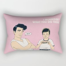 I Morrissey What You Did There Rectangular Pillow