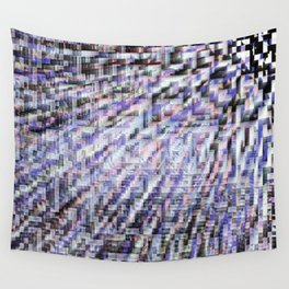 Gray Static Wall Tapestry