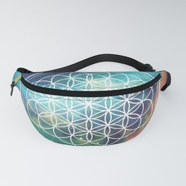 Flower Of Life 008 Fanny Pack
