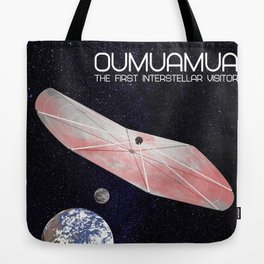 Oumuamua - the solar system's first known interstellar visitor Tote Bag