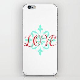 Beautiful Love iPhone Skin