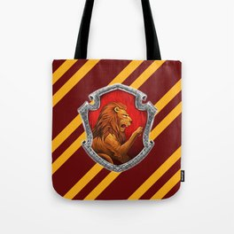 Gryffindor Hogwarts Stripes Tote Bag