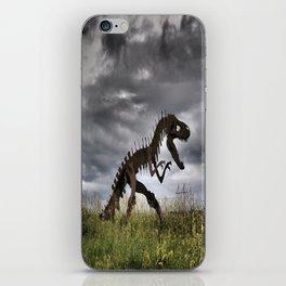 Steel T-Rex iPhone Skin