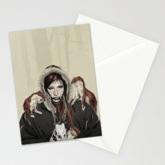 SKAÐI - Dweller of the Rocks Stationery Cards