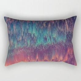 Glitch art Sky #glitch #abstraction Rectangular Pillow