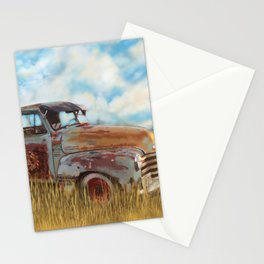Classic Chevrolet Truck Stationery Cards
