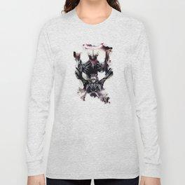 Kaworu Nagisa the Sixth. Rebuild of Evangelion 3.0 Digital Painting. Long Sleeve T-shirt