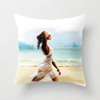 thailand Throw Pillows featuring Thailand by tatiana-teni