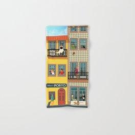 Porto Houses - Portugal Hand & Bath Towel