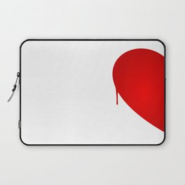 Half Heart Woman Laptop Sleeve