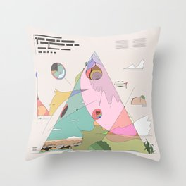 Mt.1 Throw Pillow