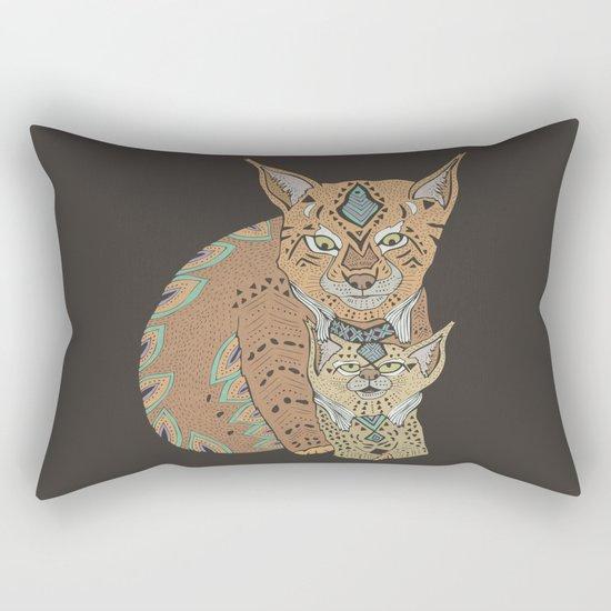 Wild Cats Love II Rectangular Pillow