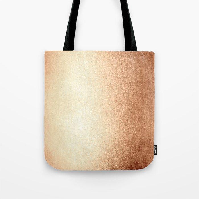 Simply Deep Bronze Amber Tote Bag