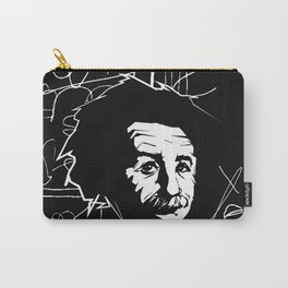 Albert Einstein Tribute Illustration Carry-All Pouch