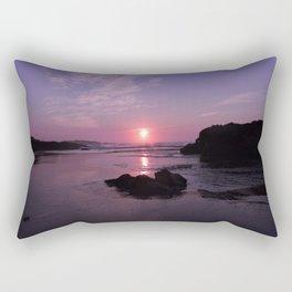 Purple Sunrise in Maine Rectangular Pillow