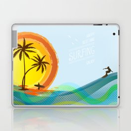 Enjoy summer Laptop & iPad Skin