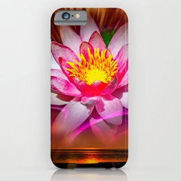 Wellness - Water Lily iPhone Case