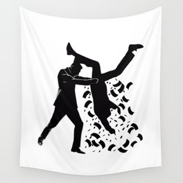 Taxation is theft - shakedown Wall Tapestry