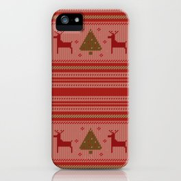 Christmas Sweater iPhone Case