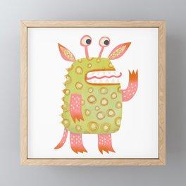 Monster Rufus Framed Mini Art Print