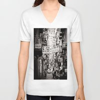 italy V-neck T-shirts featuring Italy  by Kráľ Juraj