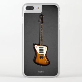 The Firebird Electric Guitar 1965 Clear iPhone Case