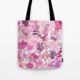 Val Abstract Brushstrokes Tote Bag
