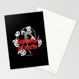 Baptised in Neem Stationery Cards
