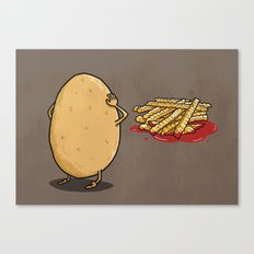 There will be...fries! Canvas Print