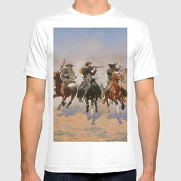A Dash for the Timber - Frederic Remington T-shirt