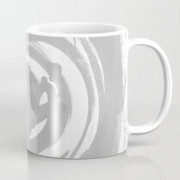 Swirl Pale Gray Coffee Mug