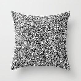 White noise #02 Throw Pillow