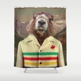 Hudson Beaver Shower Curtain